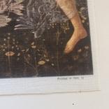 Декоративная открытка старой Италии. Шелкография., фото №7