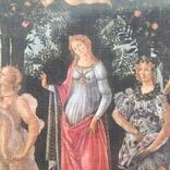Декоративная открытка старой Италии. Шелкография., фото №13