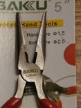 Круглогубцы BAKU BK-031, фото №4