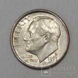 США 1 дайм, 1993