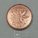 Канада 1 цент, 1998