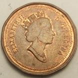Канада 1 цент, 1996 фото 2