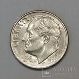 США 1 дайм, 1999