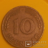 Німеччина 10 пфенігів, 1950