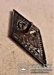 Знак 7 годовщина Октября, СССР, копия, №34, 1924 год, фото №9