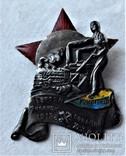 Знак Героям январских событий 1918г на Юго-Западной железной дороге, копия, 1927г, №436, фото №2