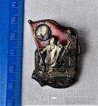 Знак ОСС Отличник соцсор Министерства угольной промышленности СССР, копия, 1948г, №0474, фото №4