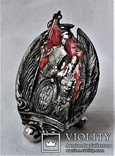 Знак  Лейп-Гвардии Волынского полка, 1917г, ВЧК ОГПУ, копия, №0771, для ОГПУ, ВЧК, фото №3