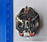 Знак За участие в боях на Карельском перешейке, копия, №0417, 1940г, фото №4