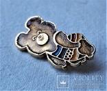 Знак Медведь мишка Олимпиада 1980 г, Москва, фото №7