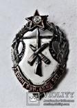 Знак Советские Петроградские курсы финских Красных командиров, копия, 1918-22гг, №841, фото №3