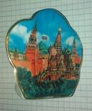 Керамический подсвечник Москава Кремль., фото №7