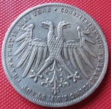 2 гульдена 1848 года  Свободного города Франкфурта, фото №3