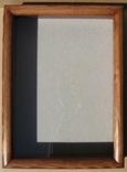 Глубокая рамка-витрина для серьёзной коллекции. 39х29см., фото №3