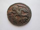 Деньга 1735 остатки штемпельного блеска фото 3