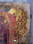Радость всем скорбящим,золотофонка,42х54см, фото №7