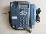 Сетевой телефон TEXET TX-210М, Россия, серо-голубой, фото №2