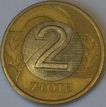 Польща 2 злотих, 2010