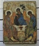 "Икона ""Троица""   25,5Х19,5Х2 см, фото №2"