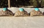Браслет серебро, скань, зернь., фото №5