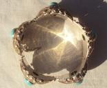 Браслет серебро, скань, зернь., фото №9