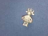 Коллекционная миниатюра Коровка - Красотка. Бронза. Брелок, фото №5