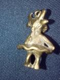 Коллекционная миниатюра Коровка - Красотка. Бронза. Брелок, фото №9