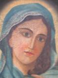Пара народных икон. Святейшее сердце Иисуса Христа и Непорочное Сердце Девы Марии, фото №5
