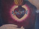 Пара народных икон. Святейшее сердце Иисуса Христа и Непорочное Сердце Девы Марии, фото №6