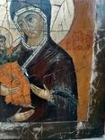 Икона Богородица Троеручица, фото №4