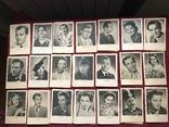 Набор старинных открыток с изображением германских артистов времен гитлеризма, фото №2