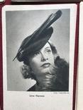 Набор старинных открыток с изображением германских артистов времен гитлеризма, фото №3