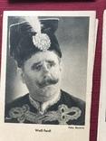 Набор старинных открыток с изображением германских артистов времен гитлеризма, фото №6