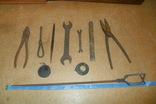 Плоскогубцы пассатижи ножницы по металлу ключ рулетка напильник и др., фото №2