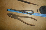Плоскогубцы пассатижи ножницы по металлу ключ рулетка напильник и др., фото №5
