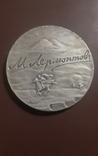 Настольная медаль -Лермонтов 1983 год ( мс ), фото №2