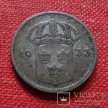 10 эре 1933  Швеция серебро    (К.41.3)~, фото №2