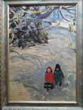 """""""Дети' к.м. 1970 г. Михаил Кошель, фото №3"""