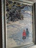"""""""Дети' к.м. 1970 г. Михаил Кошель, фото №8"""