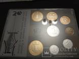 Набор обиходных монет НБУ 2016 / набір обіходних монет UNC, фото №2