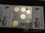 Набор обиходных монет НБУ 2016 / набір обіходних монет UNC, фото №4