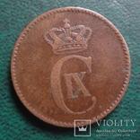 2 эре 1875    Дания    (,10.1.22)~, фото №3