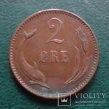 2 эре 1894    Дания    (,10.1.24)~, фото №2