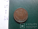 2 эре 1894    Дания    (,10.1.24)~, фото №4