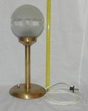 Старый бронзовый светильник, фото №3