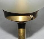 Старый бронзовый светильник, фото №7