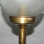 Старый бронзовый светильник, фото №8