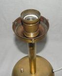 Старый бронзовый светильник, фото №10