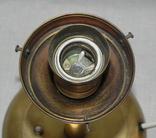 Старый бронзовый светильник, фото №12