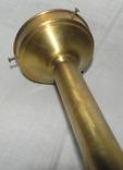 Старый бронзовый светильник, фото №13